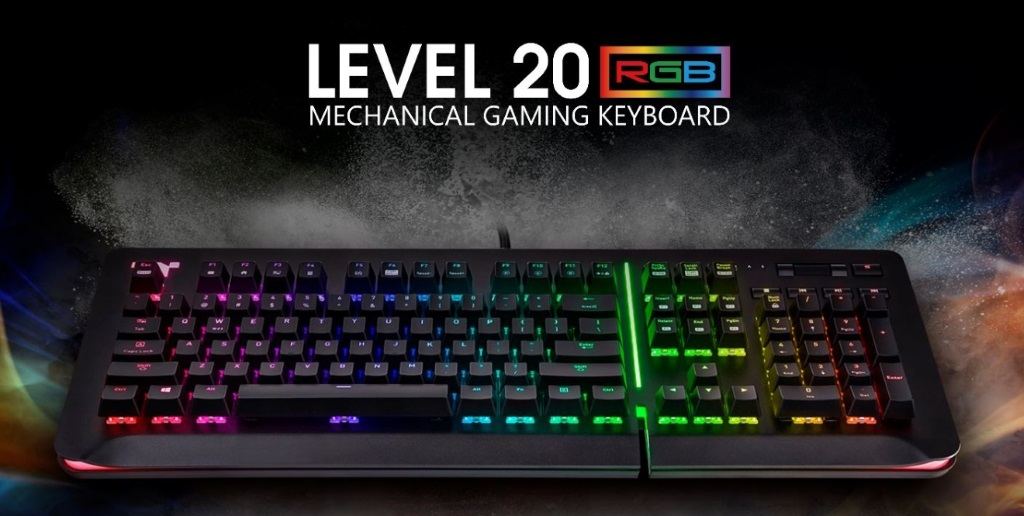 Thermaltake Premium Level 20 RGB Cherry MX Speed Silver Gaming Keyboard Review